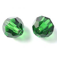 Dark Moss 5000 Swarovski Crystal Round Beads 4mm PK10